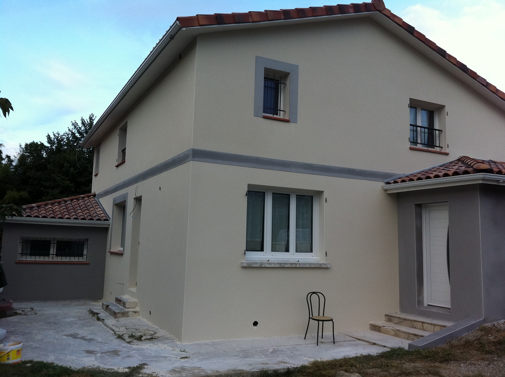 Facade du littoral facadier perpignan renovation - Enduit de renovation reliss ...